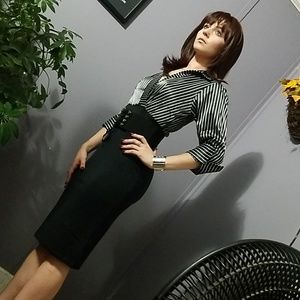 STUNNING IMPORTED OFFICE DRESS